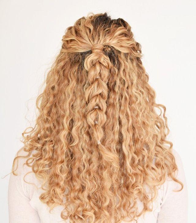 Какую прическу сделать на волнистые волосы