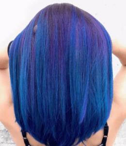 Скрытое окрашивание на русые волосы средней длины фото