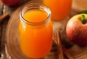 Яблочный уксус производится из сброженного яблочного сока