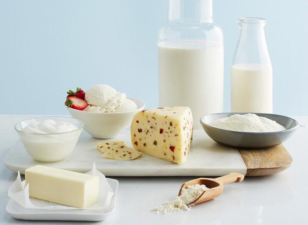 Молочные продукты с низким содержанием жира