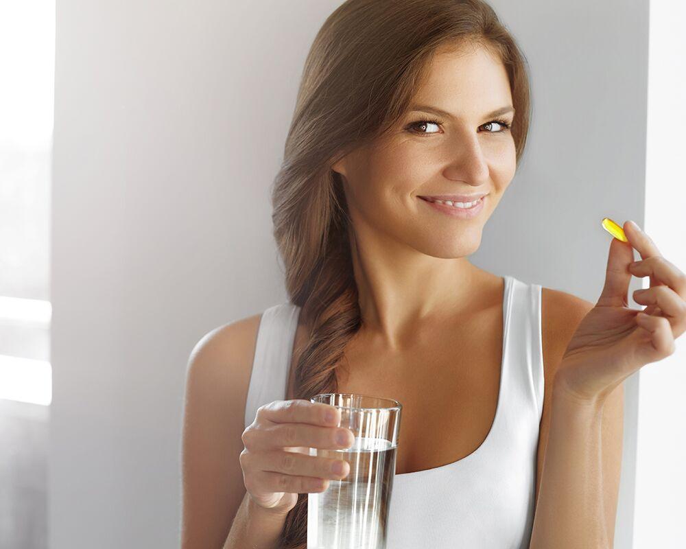 пить витамин цинк для волос