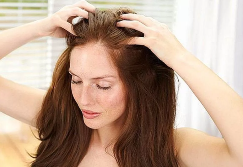 Увеличение притока крови к коже головы