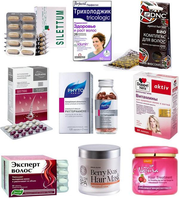 Витамины и минералы для волос от выпадения