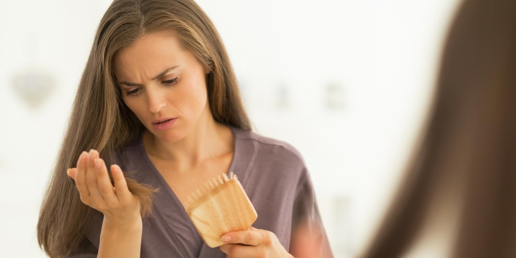 выпадение волос из-за дефицита железа