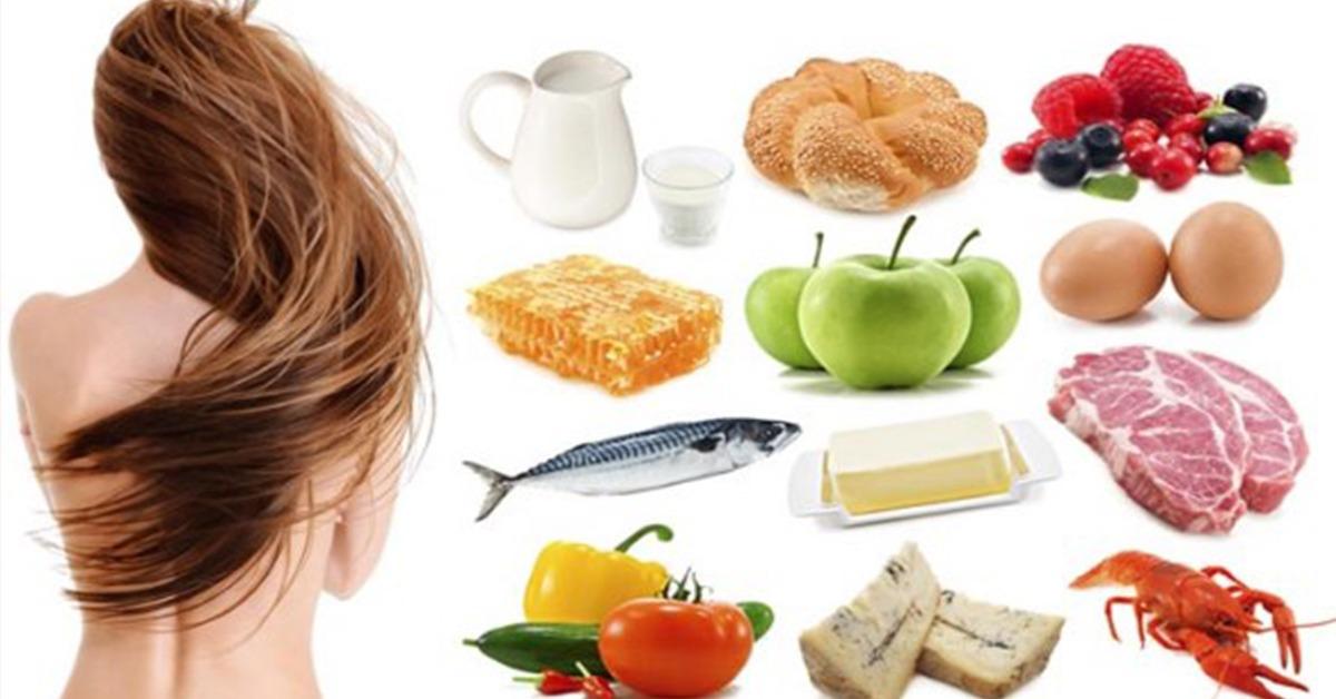 Диета при выпадении волос у женщин