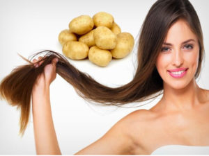 картофельный сок для волос польза