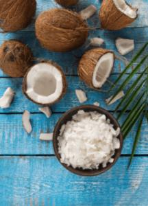 Кокосовое масло для седых волос