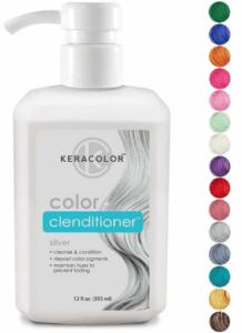 Краска для волос Keracolor Clenditioner Silver