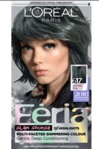 L'Oréal Paris Hair Color Feria Permanent Vintage Teal Hair Color
