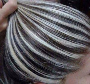 мелирование волос сколько держится