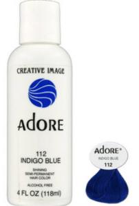 Полуперманентная краска для волос Adore Titanium