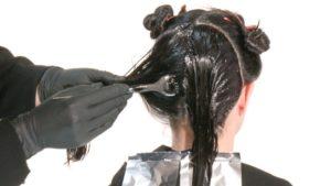 схема окраски волос в домашних условиях