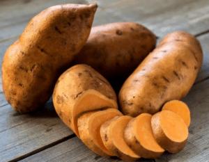 Сладкий картофель для роста волос