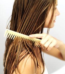 сушить очень мокрые волосы