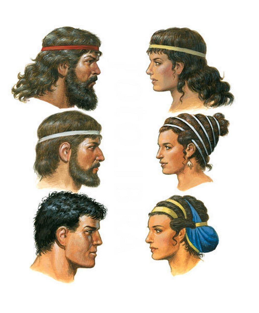 Греки волосы и прически