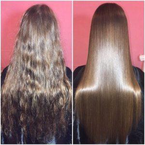 Как проходит процедура кератинового выпрямления волос инструкция