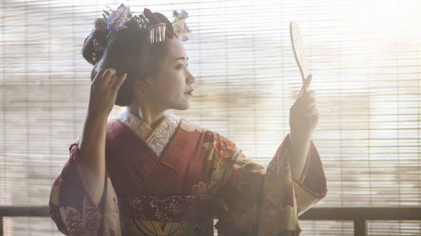Канзаши цветы из лент для волос