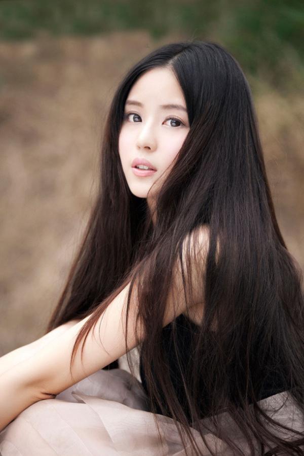 Китаянки с длинными волосами фото