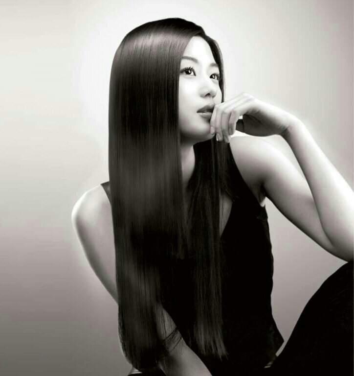 Китаянки с длинными волосами какие