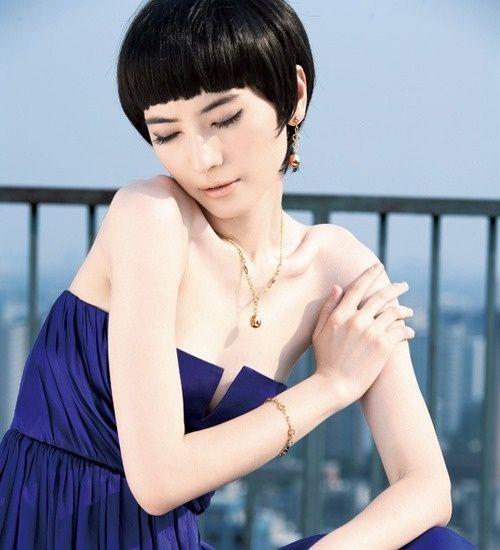 Китаянки с короткими волосами