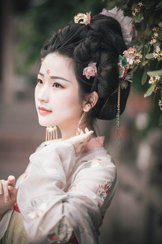 китаянок прически