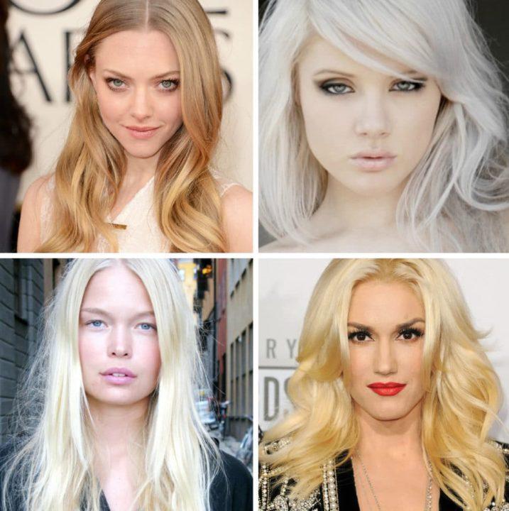 Кому идет холодный блонд