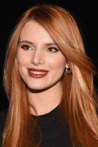 Кому идут рыжие волосы фото