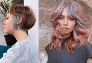 Пурпурные волосы 2021
