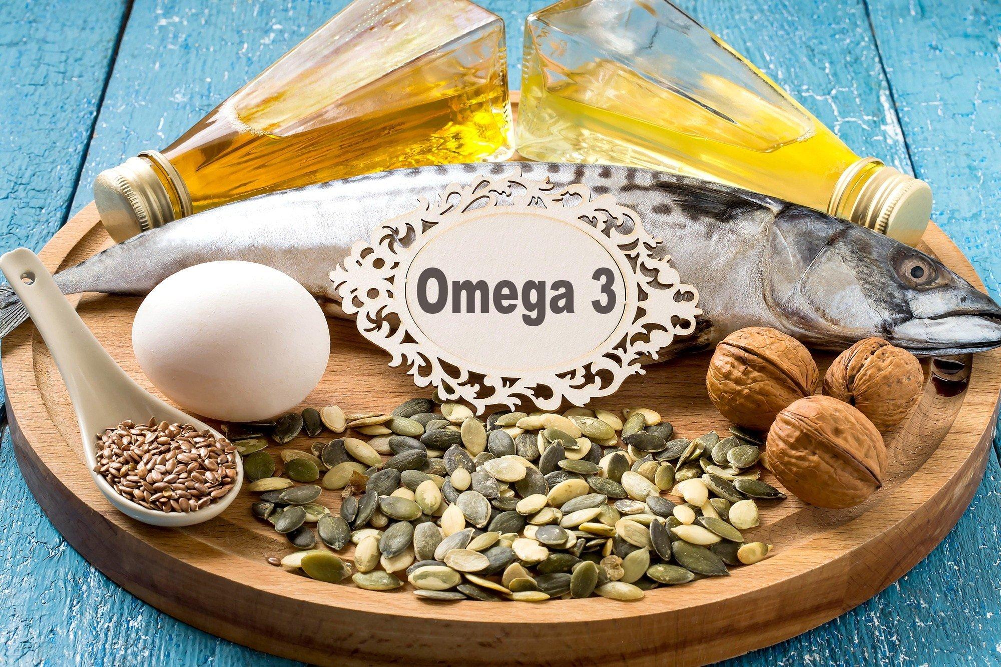 Омега-3 для волос