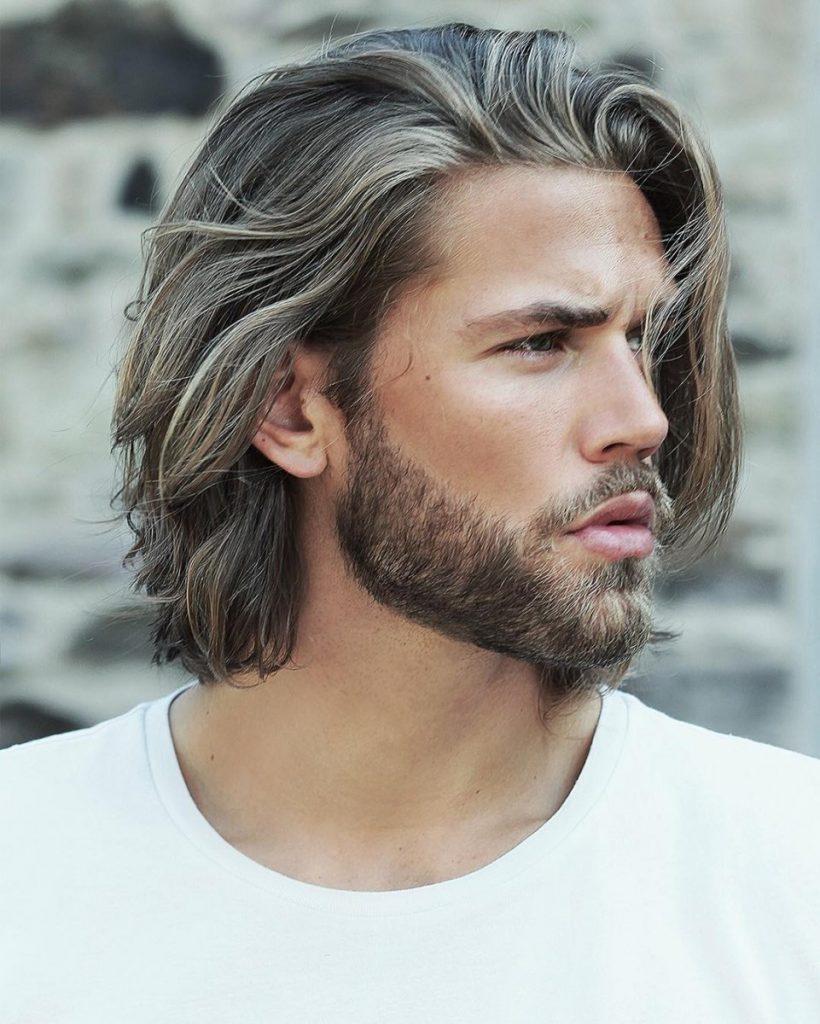 Отращивание мужских волос прически фото