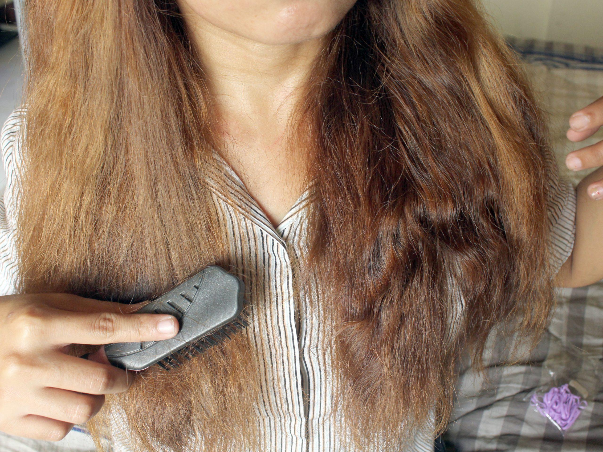Пересушенные волосы что делать