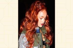 Рыже-коричневые оттенки волос для оливковой кожи