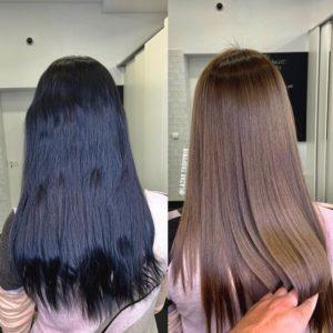 смывка волос