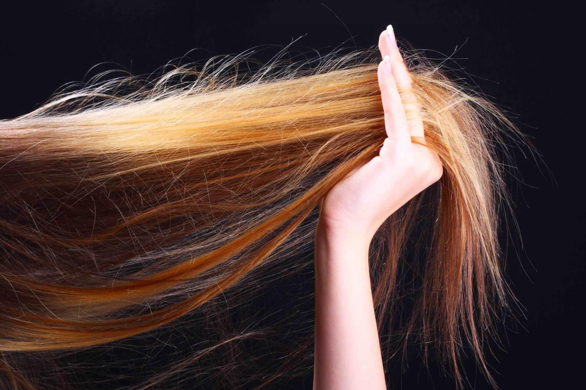 сухих и ломких волос
