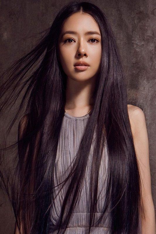Волосы у казашек