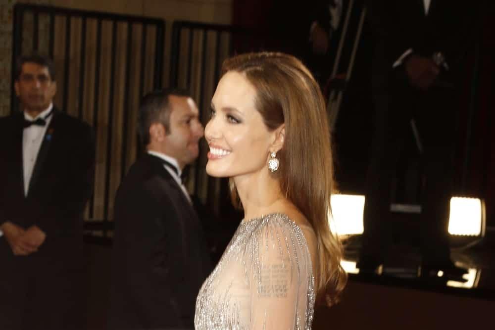3 ноября 2015 года Анджелина Джоли