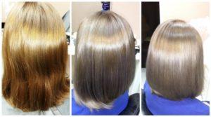 цвет волос после окрашивания