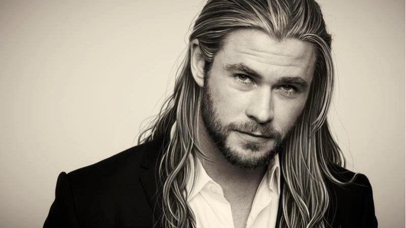 Как носить длинные волосы у мужчин