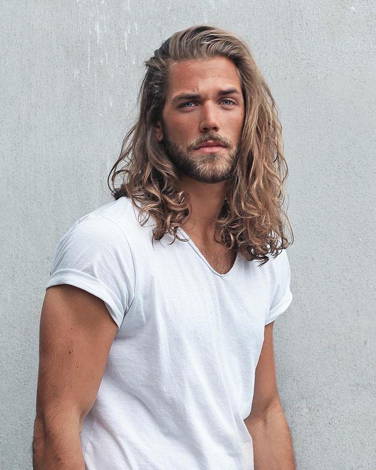 Длинные волосы у мужчин кому идут фото