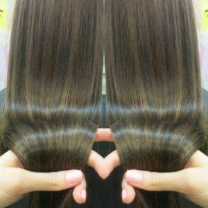 Глазурирование волос