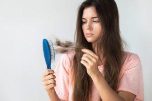 Истощение и волосы причины