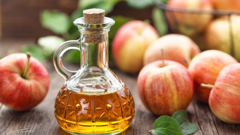 Яблочный уксус против перхоти