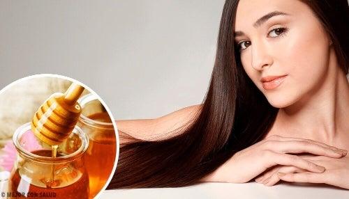 Как мед влияет на волосы