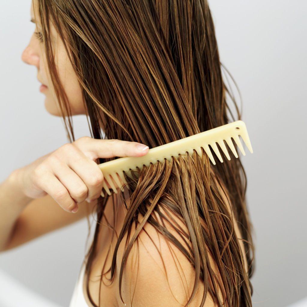 Как очистить волосы в домашних условиях