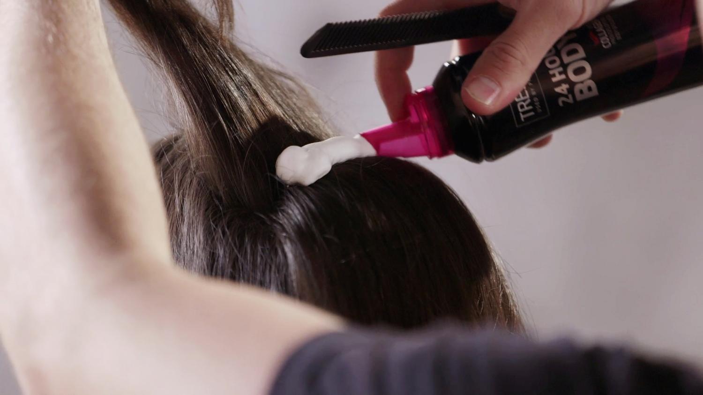 Как увеличить объем пеной для волос
