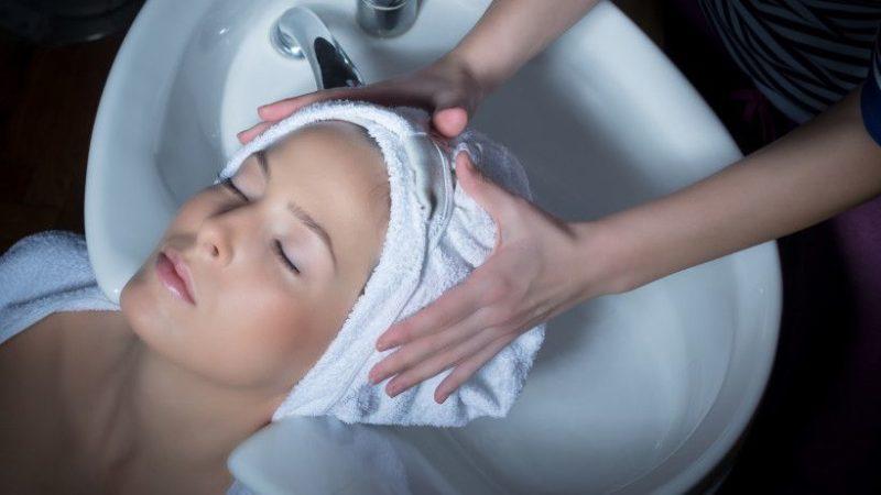 Ламинирование волос эффект
