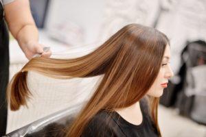 Ламинирование волос в парикмахерской