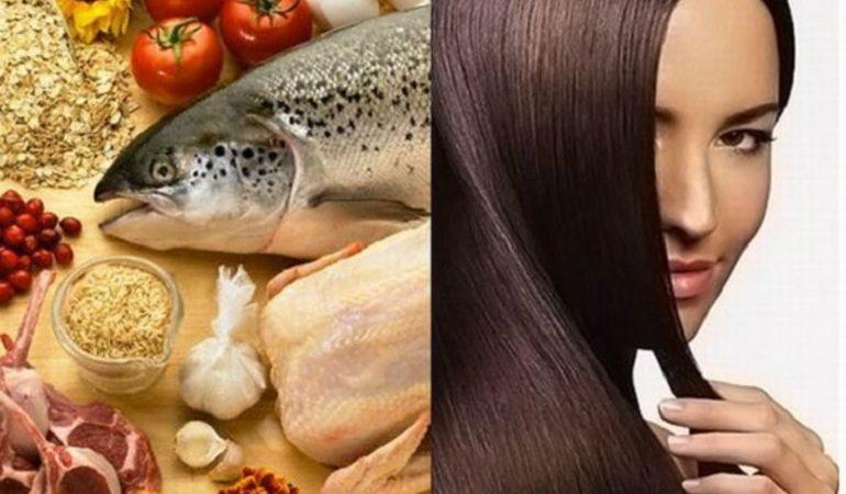 Лучшие продукты для волос