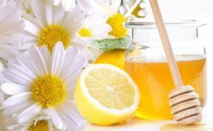 мед лимон ромашка