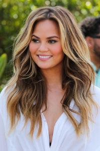 Мелированиена длинных волосах